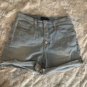 J Crew Light Blue Mercantile Jean Shorts 26